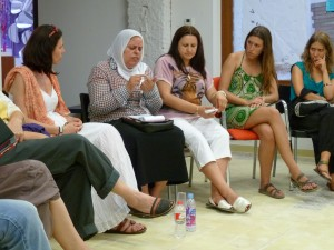 Encuentro mujeres Palestina Barcelona