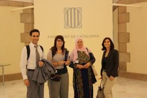 Reunión Palestina Parlament Catalunya
