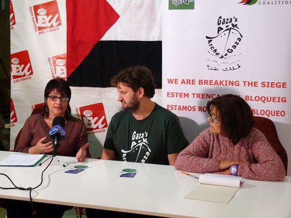 45 - Reunión y rueda de prensa con Esquerra Unida de NoveldaC