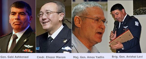Los cuatro responsables máximos del ataque al Mavi Marmara, contra quienes se ha dictado la orden internacional de captura a la INTERPOL