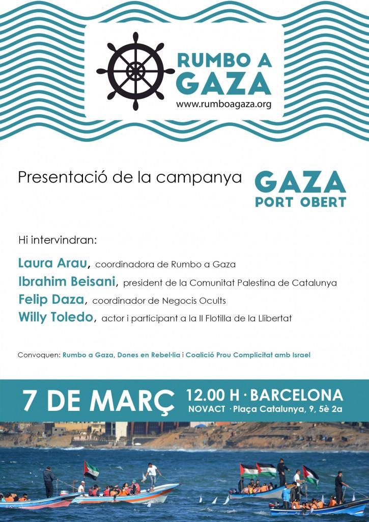 Cartel presentación RaG Barcelona