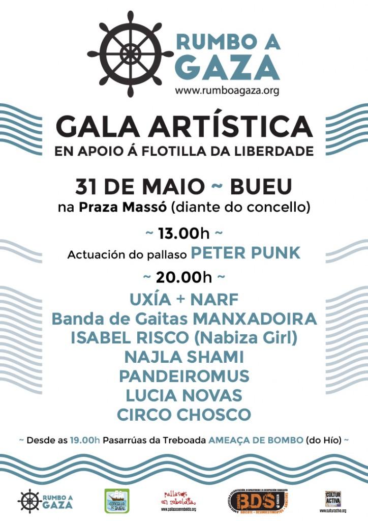 Gala Rumbo a Gaza Galicia