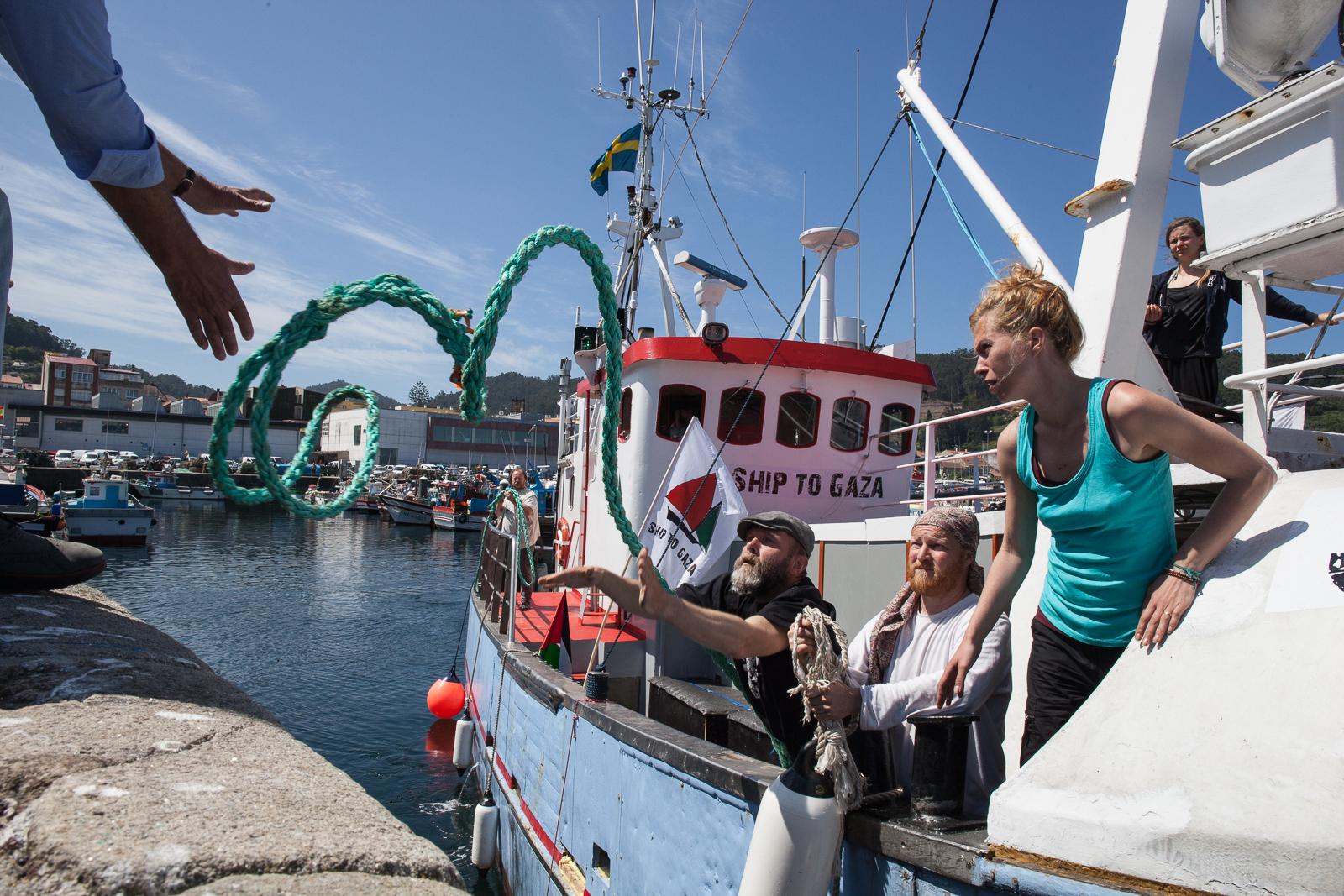 Un barco de mujeres navegará en otoño para romper el bloqueo a Gaza