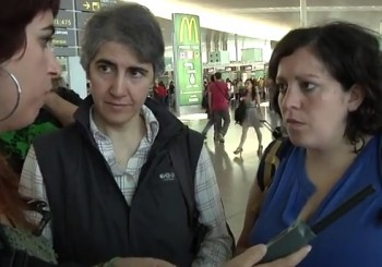 Israel impide la entrada al país a Teresa Forcades por participar en la Flotilla
