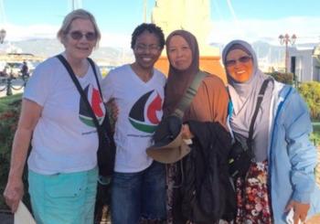 Por qué estoy en el barco de Mujeres Rumbo a Gaza, por Lisa Gay Hamilton