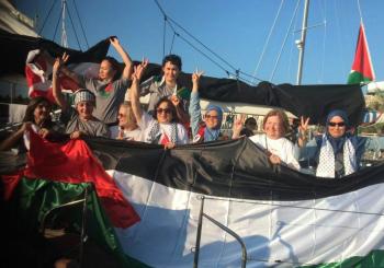 Todas las participantes de Mujeres Rumbo a Gaza fueron deportadas