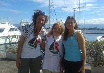 Jaldía Abubakra y Sandra Barrilaro narran su experiencia a bordo del Zaytouna