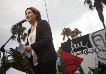 El Ayuntamiento de Barcelona apoya la flotilla y pide el fin del bloqueo ilegal de Gaza