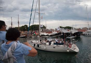 El velero Zaytouna-Oliva salió de Barcelona dirección a Ajaccio (con actualizaciones)