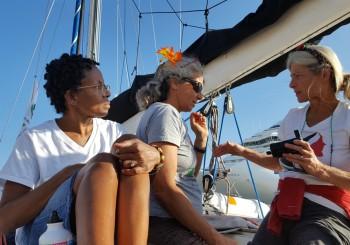 Siete días navegando con Mujeres Rumbo a Gaza, por Yudit Ilany