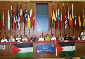 Messina recibe calurosamente a la flotilla de Mujeres Rumbo a Gaza