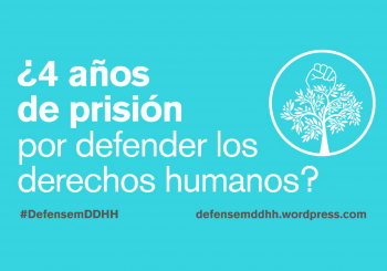 Rumbo a Gaza se suma a la campaña 'Defendamos los derechos humanos'