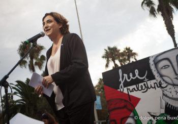 El Ayuntamiento de Barcelona rompe complicidades con el régimen de ocupación militar  israelí en Palestina