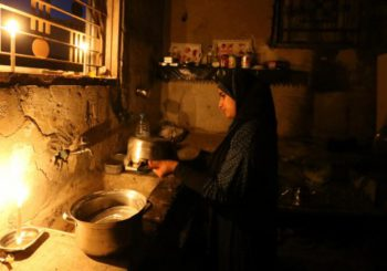 Gaza sin apenas suministro de agua potable ni electricidad