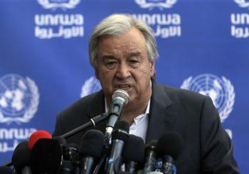 Carta a António Guterres, Secretario General de la ONU