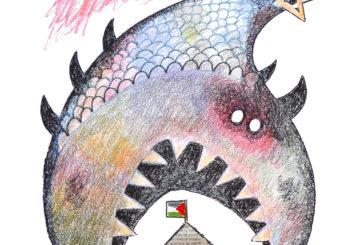 El artista Vázquez de Sola se solidariza con Gaza