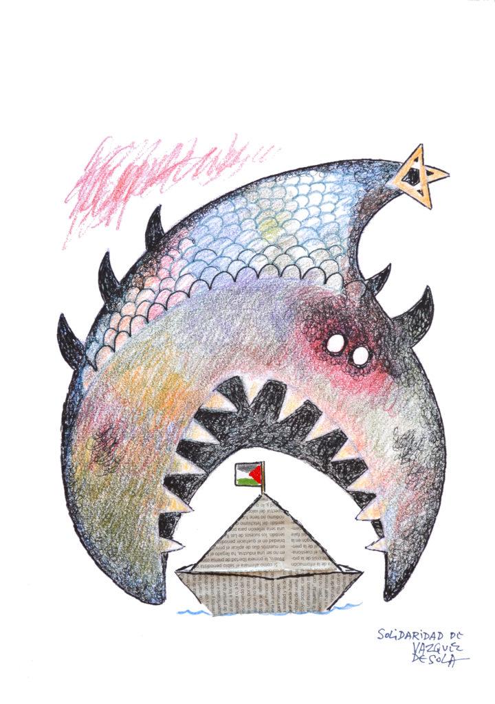 Vázquez_de_Sola_Solidaridad_pescadores_Gaza
