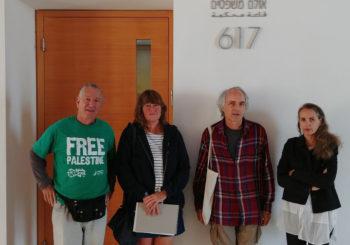 Tribunal israelí interroga a testigo de las Fuerzas de Ocupación Israelíes en relación con el barco de Mujeres Rumbo a Gaza (Zaytouna-Oliva)