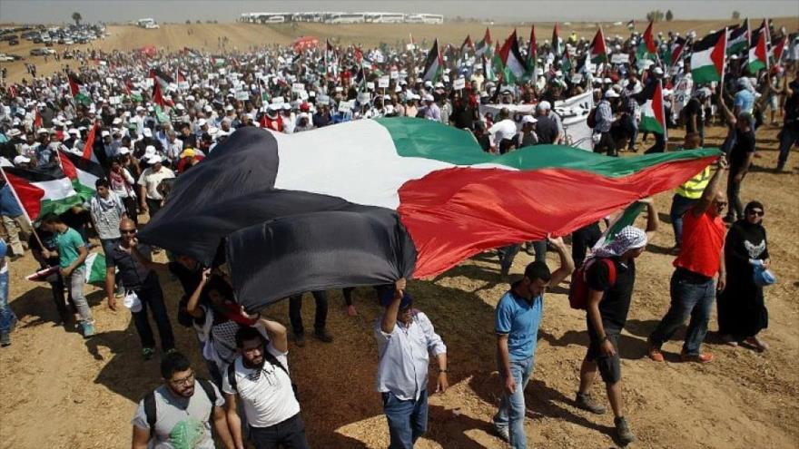 Gran Marcha del Retorno, Gaza, Palestina