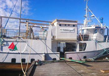 """El barco noruego Al Awda preparado para navegar por el """"Derecho a un futuro digno para Palestina"""""""