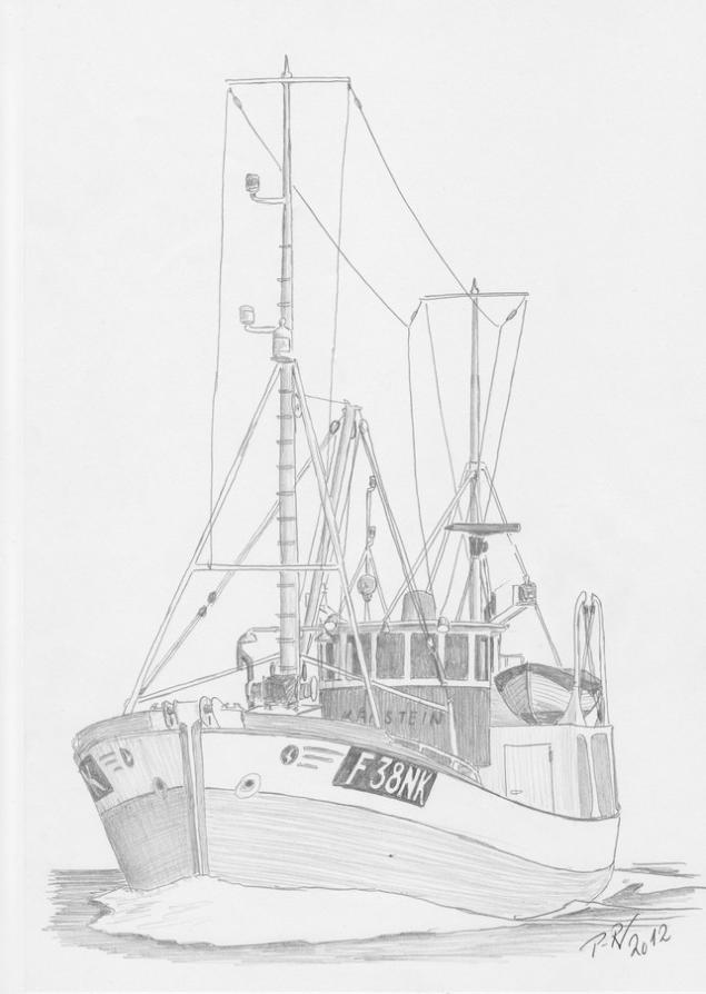 Antiguo pesquero noruego que tras trabajar durante décadas en el Ártico, se convertirá en Al Awda, El Retorno y navegará hacia Gaza