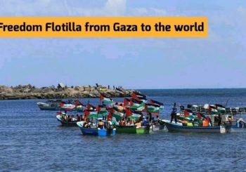 Flotilla de la Libertad desde Gaza hacia el resto del mundo