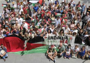 Cádiz acoge con entusiasmo a la Flotilla de la Libertad
