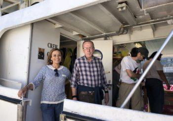 Ángela Vallina y Ángel Ponte, embarcan en la Flotilla de la Libertad rumbo a Lisboa