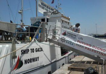 La Flotilla de la Libertad llega a Marsella y Ajaccio