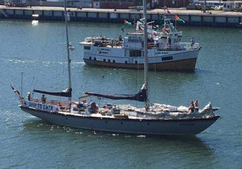 Flotilla de la Libertad actualización sobre el estado legal de los barcos